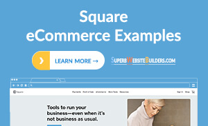 Square Online Store Examples