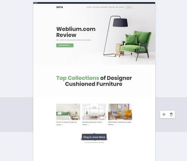 Weblium preview