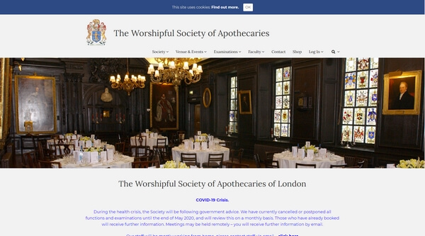 The Worshipful Society of Apothecaries