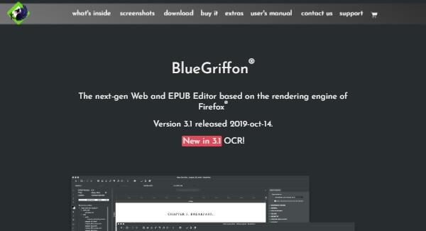 BlueGriffon - Modern and Free HTML Editor