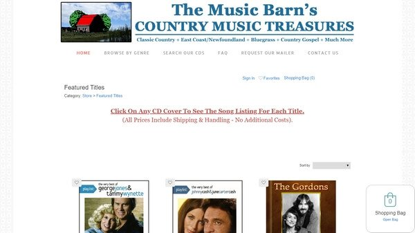 Country Music Treasures
