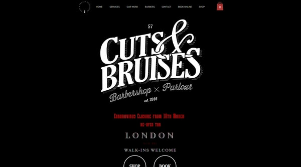 Cuts And Bruises Barbershop