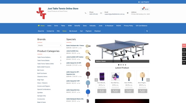 Just Table Tennis