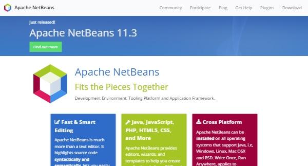 Apache NetBeans - Open Source IDE for Windows, Mac, Linux