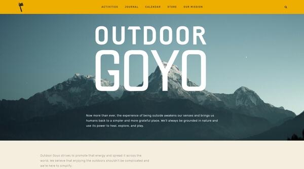 Outdoor Goyo