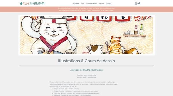 Plume Illustrations