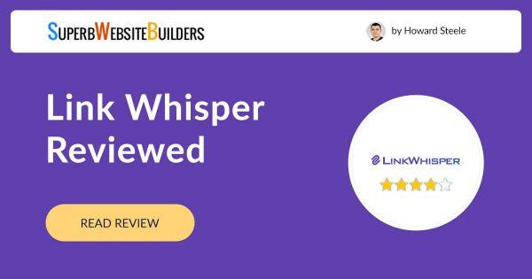Link Whisper Plugin Review