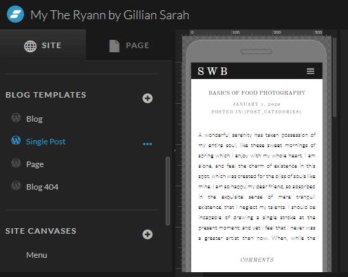 Showit WordPress Blog