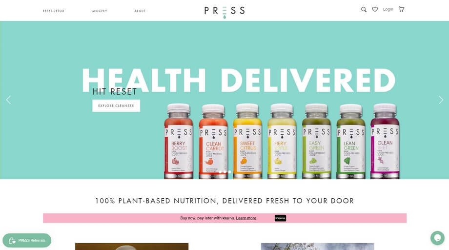 A UK shop focused on distributing naturally grown and plant-based grocery products nationwide