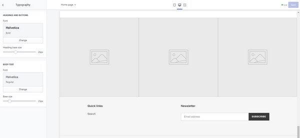 Shopify Design Tools