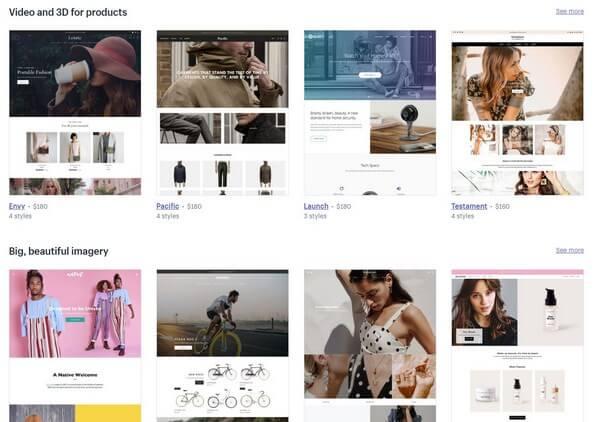Shopify Premium Templates
