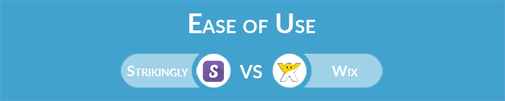 Strikingly vs Wix: Which One Is Easier to Use?