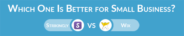 Strikingly vs Wix: Which One Is Better for Small Business Website