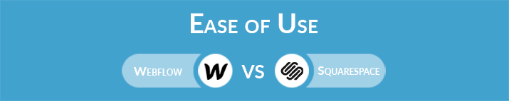 Webflow vs Squarespace: Which One Is Easier to Use?