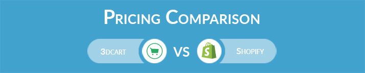 3dcart vs Shopify: General Pricing Comparison