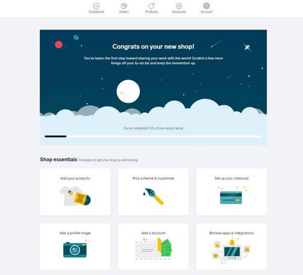 Big Cartel Create site