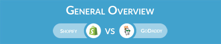 Shopify vs GoDaddy: General Overview
