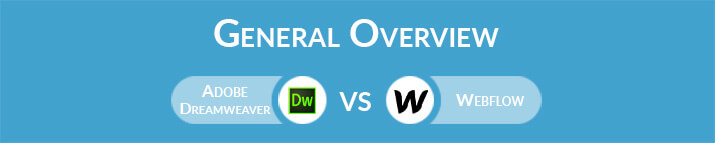 Adobe Dreamweaver vs Webflow: General Overview