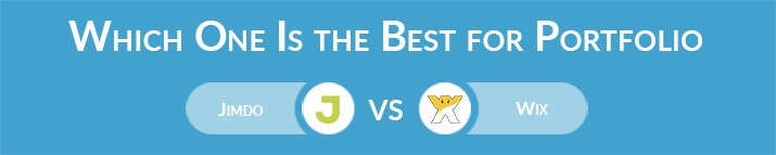 Which One Is the Best for Portfolio - Jimdo or Wix?