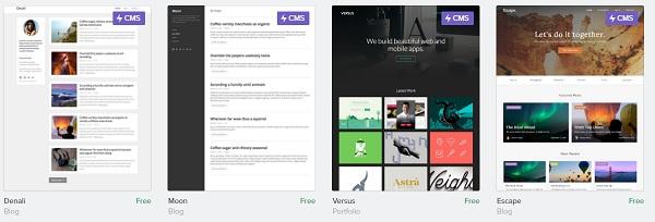 Webflow free Templates