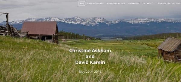Christine and David