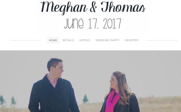 Meghan and Thomas