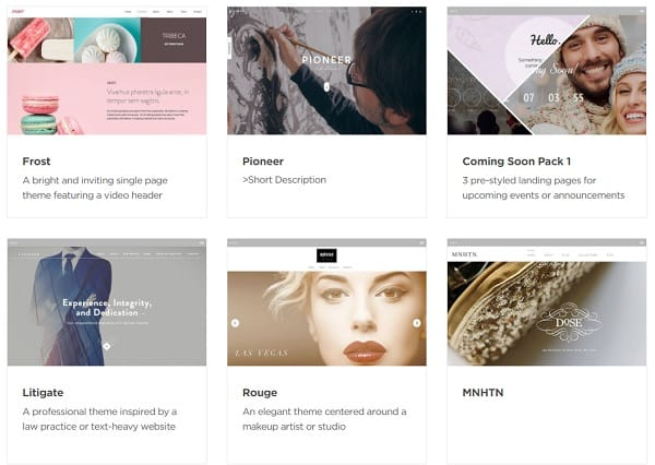 Adobe Muse Themes