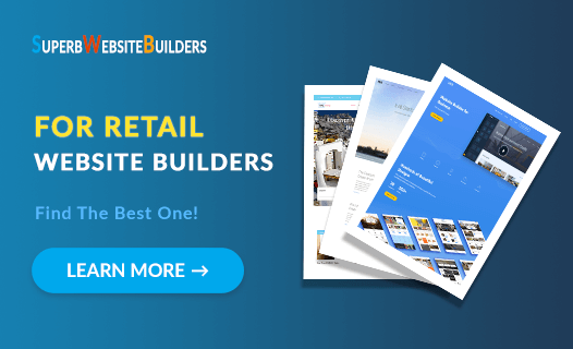 Best Website Builders for Retail
