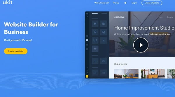 uKit - The Easiest Website Builder for Small Business