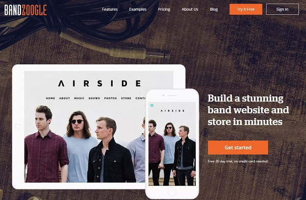 Bandzoogle - Website Builder Created by Musicians for Musicians