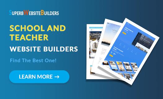 Best School and Teacher Website Builders