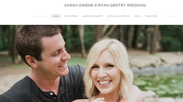 Weebly Wedding Website Examples Powered By Weebly Com