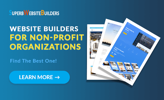 Best Website Builders for Non-Profit Organizations