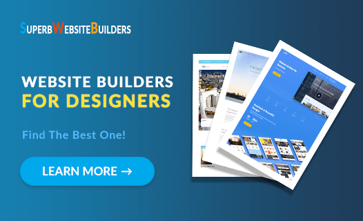 website builders for designers