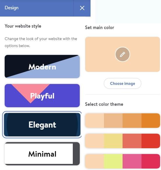 Jimdo Dolphin Design Editor