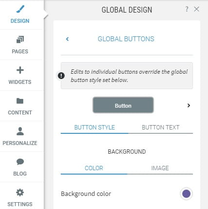 1 and 1 website editor - global design