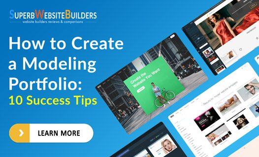 how to create a modeling portfolio