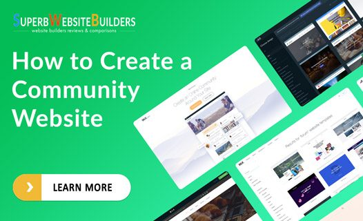 how to create a community website