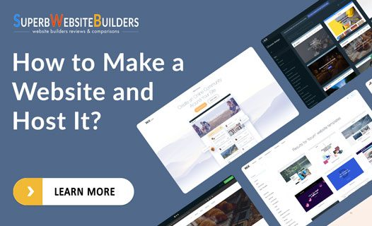 how to make a website and host it