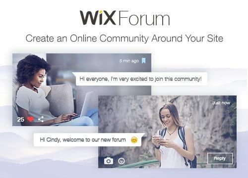 Wix Forum Main