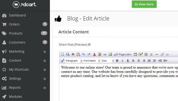 3dcart Blog