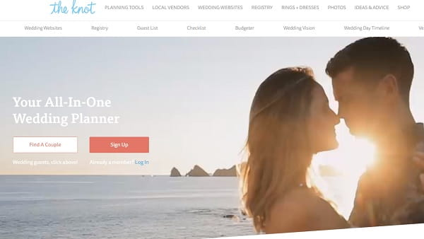 The Knot - All-in-All Solution for Wedding Planning