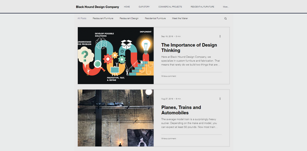 Black Hound Design Company