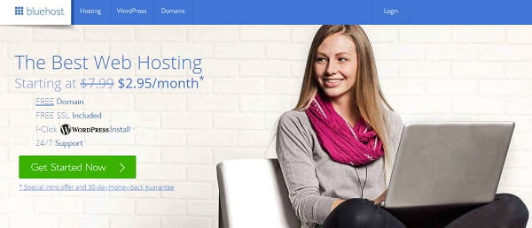 Bluehost – The Best Shared Hosting For WordPress