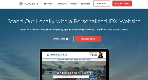 Placester – Personalized Real Estate Websites