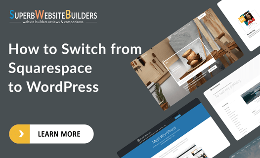 how to switch from squarespace to wordpress
