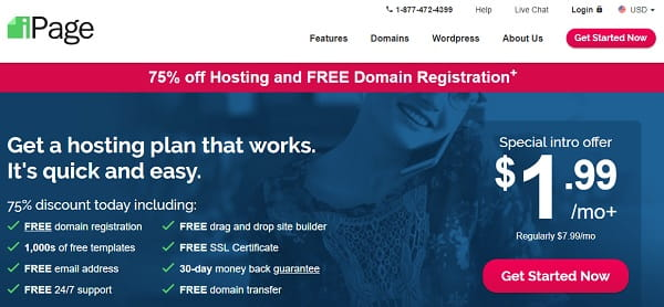 iPage – Affordable Web Hosting Company Since 1998