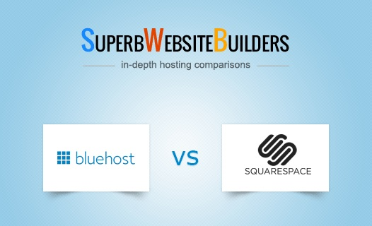 Bluehost vs Squarespace