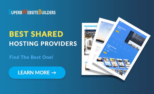 best shared hosting providers