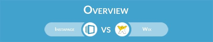 Instapage vs Wix: General Overview